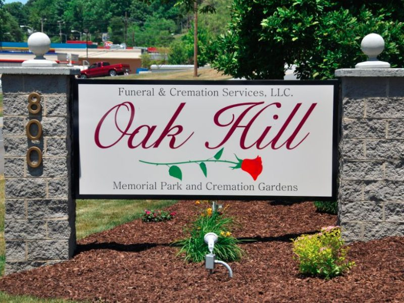Oak Hill Sign